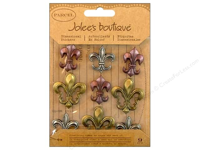 Jolee's Boutique Stickers Repeats Parcel Fleur Di Lis