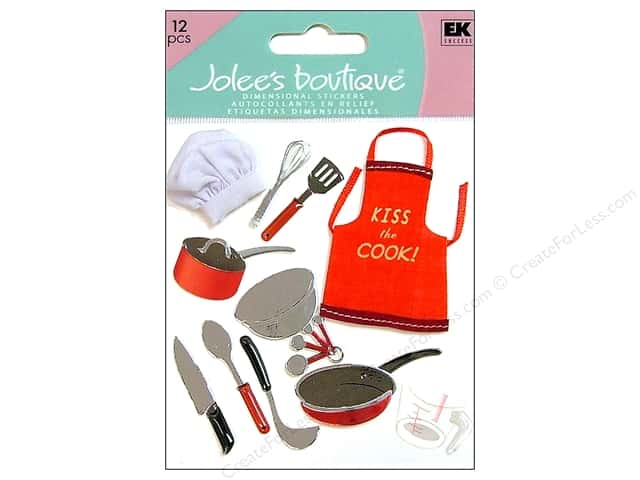 Jolee's Boutique Stickers Cooking