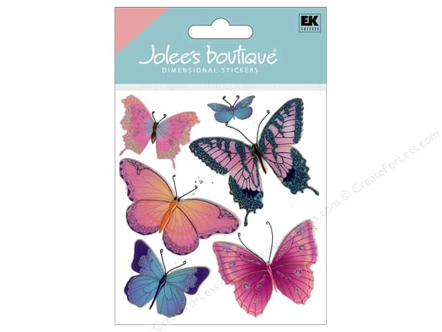 Jolee's Boutique Stickers Butterflies