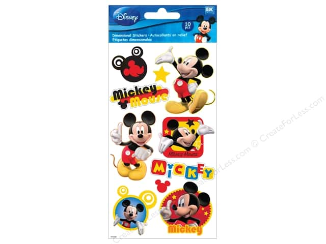 EK Disney Sticker Puffy Mickey Mouse