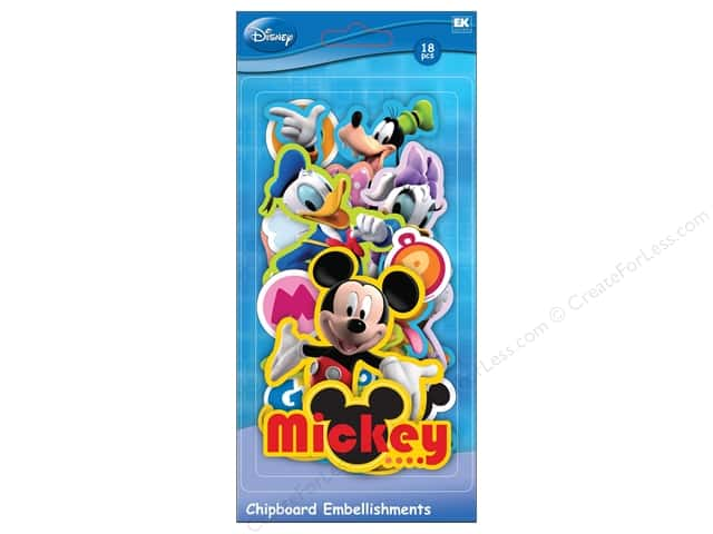 EK Chipboard Disney Mickey Friends