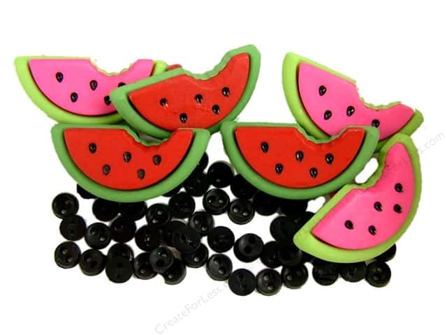 Jesse James Dress It Up Embellishments Watermelons
