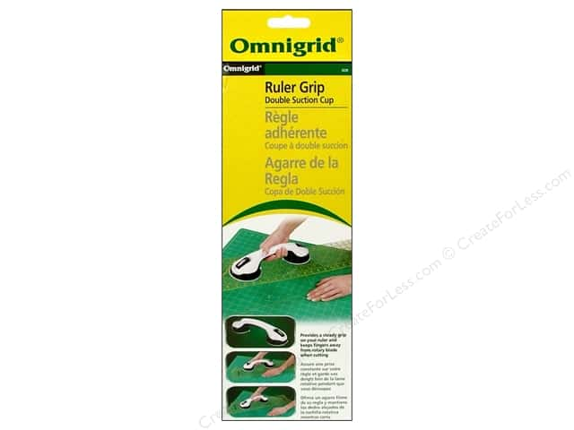 Omnigrid Ruler Grip Double Suction Cup