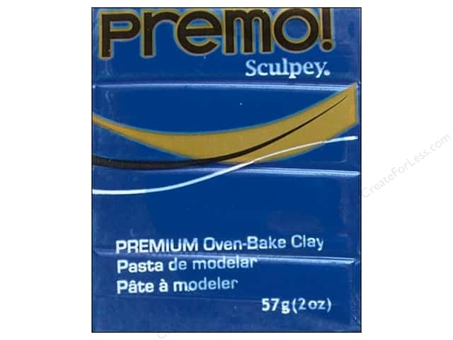 Premo Polymer Clay 2oz Cobalt Blue