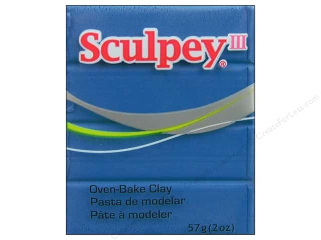 Sculpey III Clay 2 oz. Turquoise