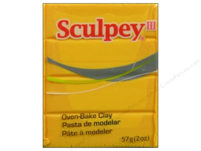 Sculpey III Clay 2 oz. Yellow