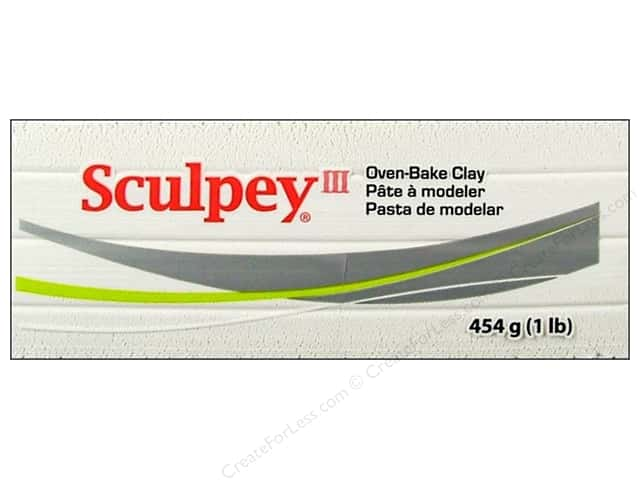 Sculpey III Clay 1 lb. White