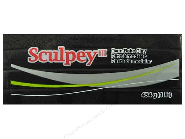 Sculpey III Clay 1 lb. Black