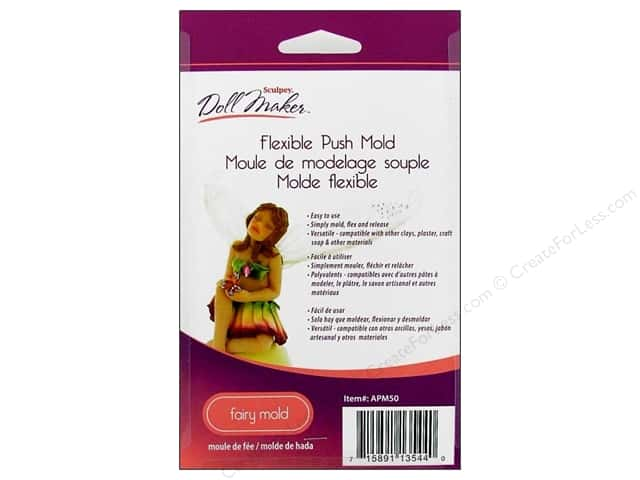 Sculpey Flexible Push Mold Fairy Doll