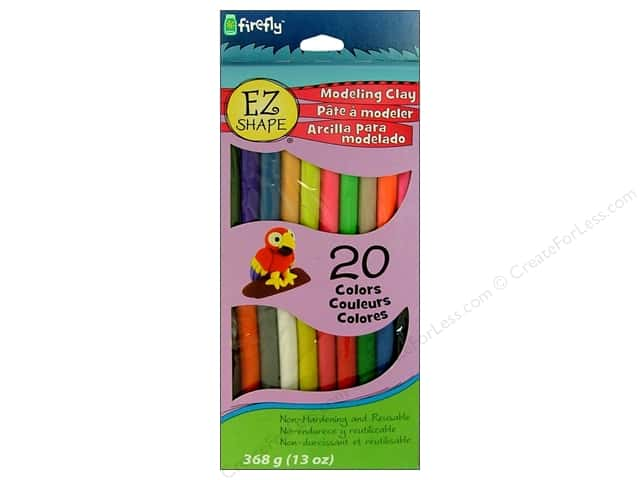 Polyform EZ Shape Non Dry Modeling Clay Set 20 pc