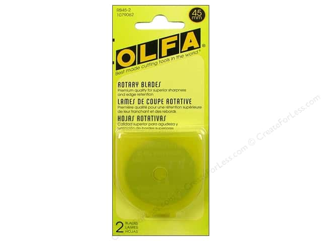 Olfa Replacement Blade 45 mm 2 pc
