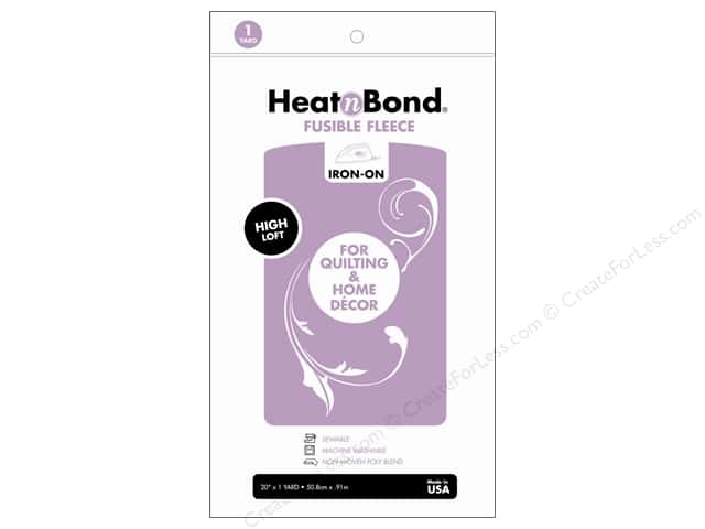 HeatnBond Fusible Fleece 20 in. x 1 yd. High Loft