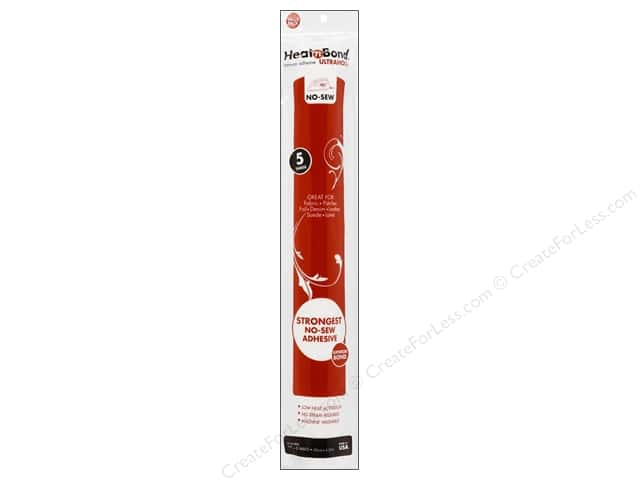 HeatnBond Ultrahold Iron-on Adhesive 17 in. x 5 yd.