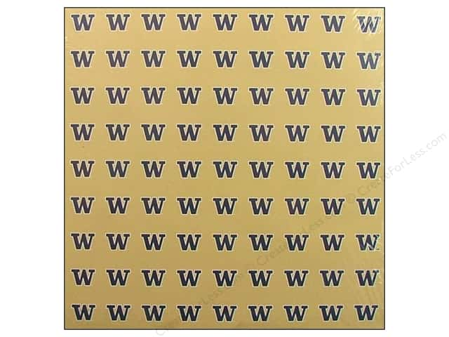 "Sports Solution Paper 12""x 12"" Washington Gold (25 sheets)"
