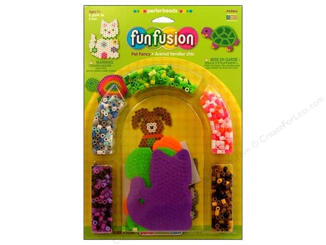 Perler Fused Bead Kit Pet Fancy