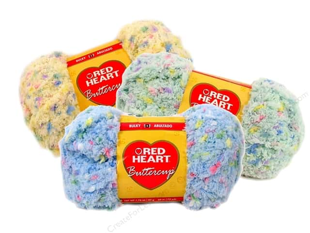 Knitting Patterns For Red Heart Buttercup Yarn : Red Heart Buttercup Yarn -- CreateForLess