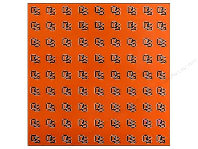 "Sports Solution Paper 12""x 12"" Oregon State Orange (25 sheets)"