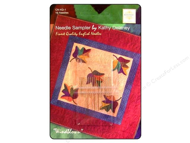 Colonial Needle Hand Needle Quilt & Applique Sample 16pc