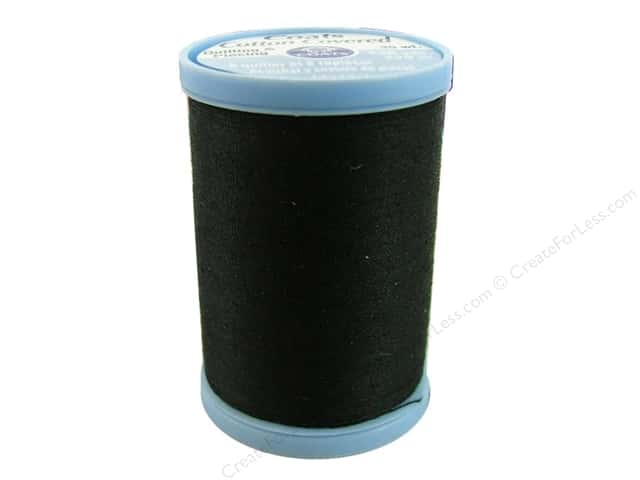 Coats Cotton Covered Quilting & Piecing Thread 250 yd. #900 Black