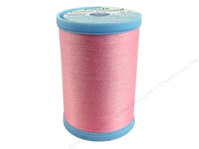 Coats Cotton Covered Quilting & Piecing Thread 250 yd. #1220 Rose