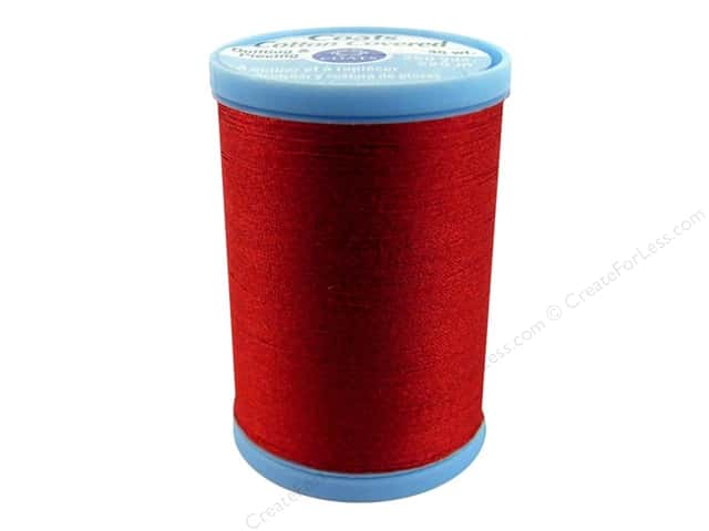 Coats Cotton Covered Quilting & Piecing Thread 250 yd. #2250 Red