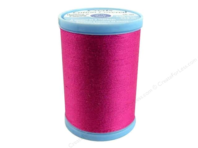 Coats Cotton Covered Quilting & Piecing Thread 250 yd. #3040 Red Rose