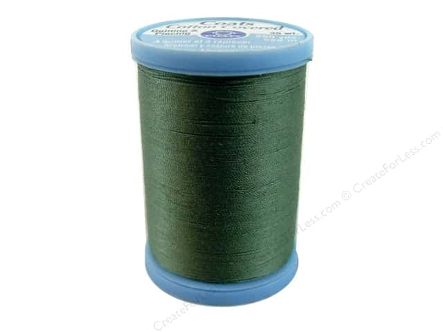 Coats Cotton Covered Quilting & Piecing Thread 250 yd. #6180 Green Linen