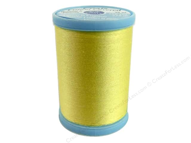 Coats Cotton Covered Quilting & Piecing Thread 250 yd. #7330 Yellow