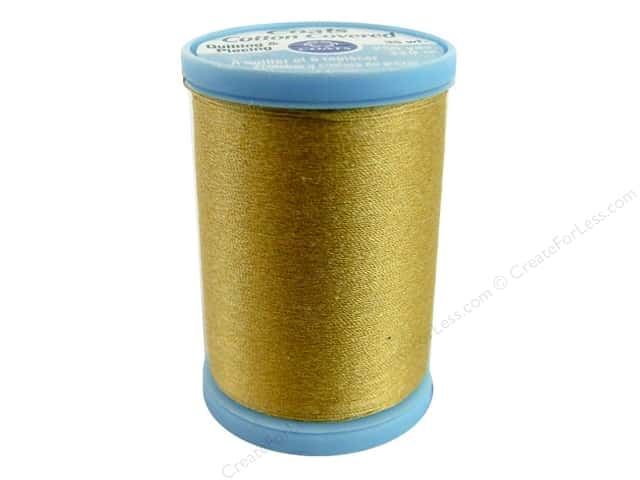 Coats Cotton Covered Quilting & Piecing Thread 250 yd. #7450 Temple Gold