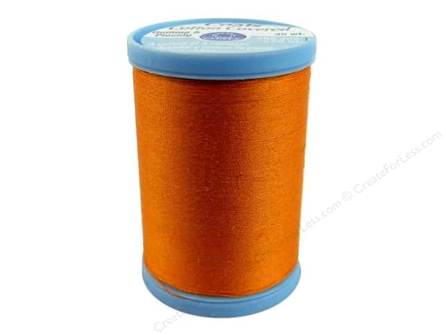 Coats Cotton Covered Quilting & Piecing Thread 250 yd. #7630 Tangerine