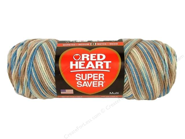Red Heart Super Saver Yarn #0301 Mirage 244 yd.