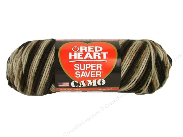 Red Heart Super Saver Yarn #0988 Platoon 244 yd.
