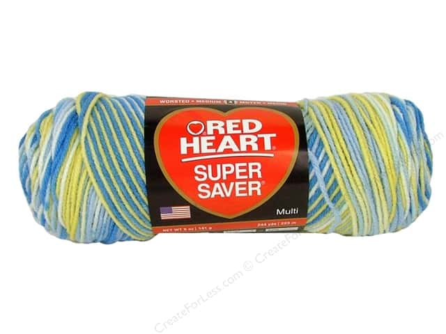 Red Heart Super Saver Yarn #0996 French Country 244 yd.