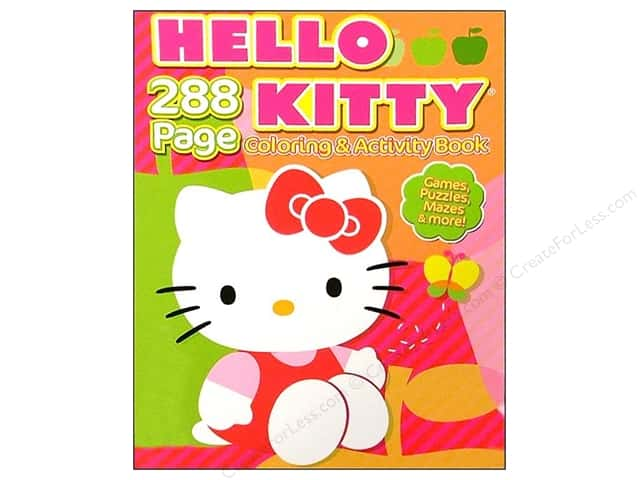 Bendon Coloring & Activity Book Hello Kitty