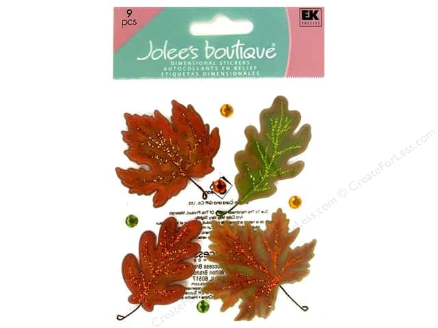 Jolee's Boutique Stickers Vellum Leaves