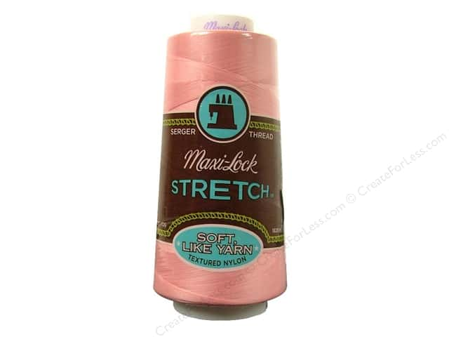 Maxi-Lock Stretch Thread 2000 yd. Pink
