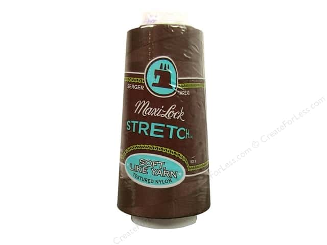 Maxi-Lock Stretch Thread 2000 yd. Brown