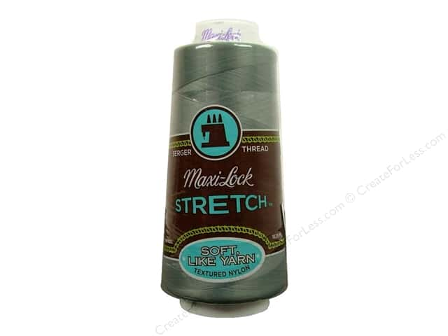 Maxi-Lock Stretch Thread 2000 yd. Steel