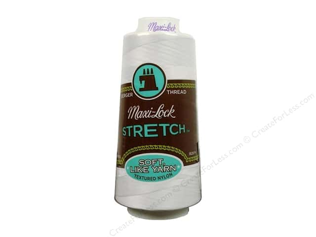 Maxi-Lock Stretch Thread 2000 yd. White