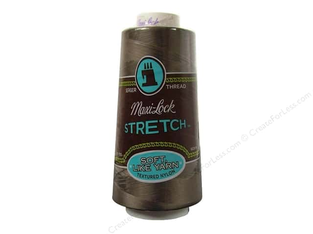 Maxi-Lock Stretch Thread 2000 yd. Beige Taupe