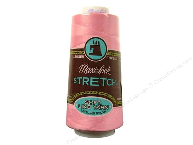 Maxi-Lock Stretch Thread 2000 yd. Medium Pink