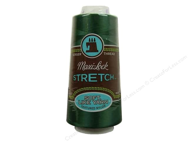 Maxi-Lock Stretch Thread 2000 yd. Churchill Green