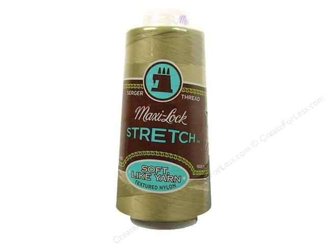 Maxi-Lock Stretch Thread 2000 yd. Khaki