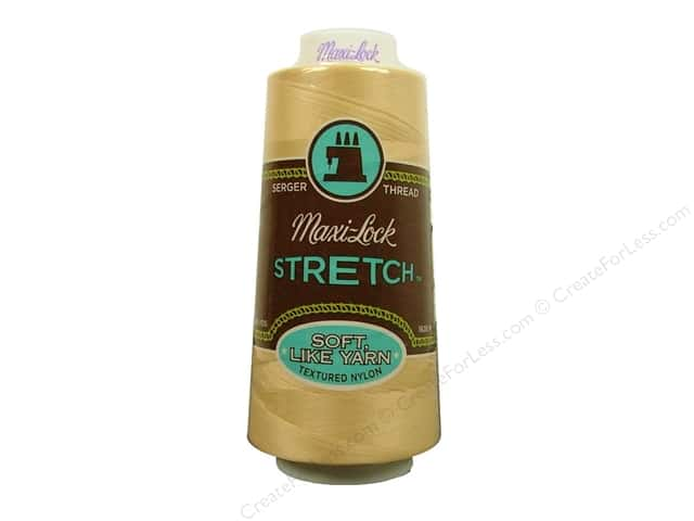 Maxi-Lock Stretch Thread 2000 yd. Natural
