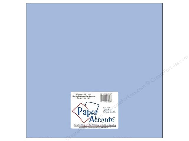 Paper Accents Cardstock 12 x 12 in. #10127 Stash Builder Forget Me Not (25 sheets)