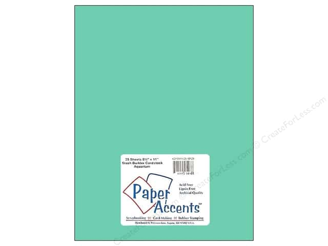 Cardstock 8 1/2 x 11 in. #10128 Stash Builder Aquarium by Paper Accents (25 sheets)