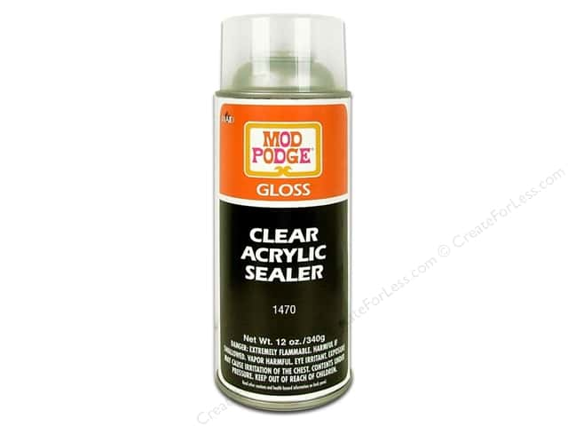 Plaid Mod Podge Clear Acrylic Sealer 12 oz. Gloss