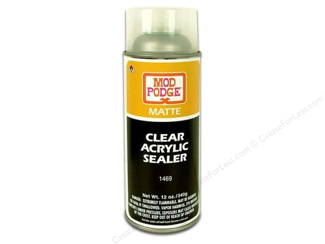 Plaid Mod Podge Clear Acrylic Sealer 12 oz. Matte