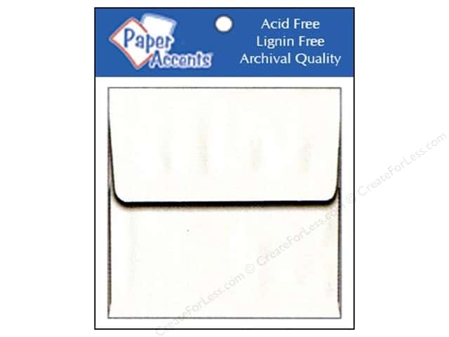 2 1/4 x 2 1/4 in. Envelopes by Paper Accents 15 pc. #128 White