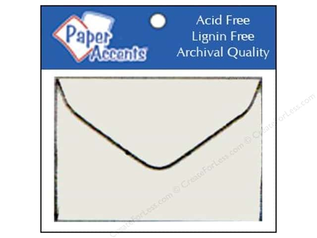 1 3/4 x 2 3/8 in. Envelopes by Paper Accents 10 pc. Vellum
